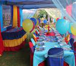 Funbelievable Creations - Kiddies tables/chairs,banners, invitations, character cakes, themed decor, party packs, jumping castles