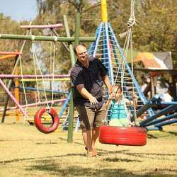 Riversands Farm Village - We offer outdoor entertainment for the whole family plus a party or event venue including inspirational playground with water slide, paddling creek, live music,  zip lining forest adventures, a coffee shop plus Treetop s forest adventures.