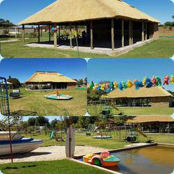 Cat's Bus Parties and Bicycle Playground  - Party venue with farmyard,  jumping castle, swimming pool and slip & slide with braai area