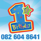 CrackerJack Parties-1st Brirthday