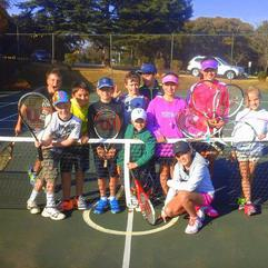 Sport - Sue Rollinson junior tennis social