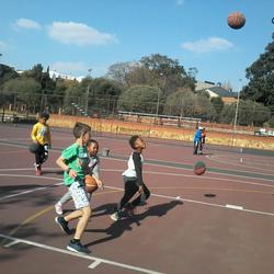 Learning to Fly Basketball Programme - Coach Junior and Senior  Basketball at Holy Family College in Parktown