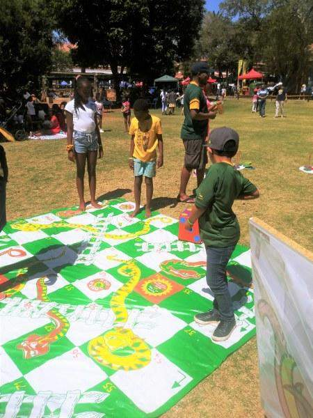 Win an Old Fashioned Games party worth R1460