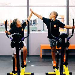 The Kids Gym - At The Kids Gym we are all about FUN and FITNESS! We offer a variety of cardio exercises, games and equipment to develop your child's fitness and strength.