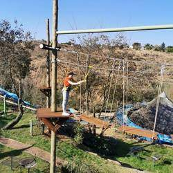 Pines Resort - Chimp and Zee Rope Adventure Park - Rope Adventure Park with 26 exciting obstacles including 6 zip lines.