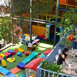 Bambanani - Restaurant, kids play area, shows for kids, arts for kids, library, gluten free, vegetarian, vegan, pizza, birthday party,