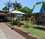 The Mighty Jungle, Bedfordview - Large outdoor party venue with jungle gyms, a covered sandpit, a merry-go-round,a  wendyhouse, a foefie slide, mini-soccer field, scooter bike track.