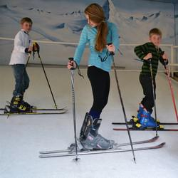 The Ski Deck - Enjoy all the fun of bum-boarding, slope surfing and sliding down the slope at the famous SKI DECK in Ferndale. We have a 20m slope for smaller kids and 40m for older kids.