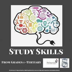 Metapsych Education, Training and Life Coaching - Study Skills Courses from Grade 4 - Tertiary Level / Student Life Coaching Randburg Sandton
