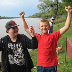 Camps-sleepover - Kidz Fishing Camp (3 dys)