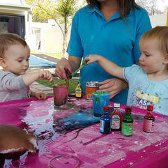 Playgroups - Messy play date at Elysium Centre