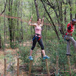 Acrobranch Pretoria - Come here for an adventure in a wonderful forest of eucalyptus trees. We have two courses packed with unique obstacles and a separate long zipline for you to enjoy over a period of one and a half hours