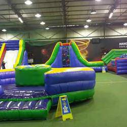 Action Bounce World - Gauteng's Largest Indoor inflatable kids play area and birthday party venue.  Adults area. bar area. smoking area. kitchen