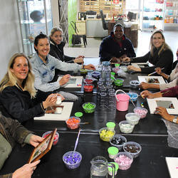 Workshops at The Yard - The Yard hosts exciting creative workshops for kiddies and adults alike.  Kiddies Workshops, Adults Workshops including mosaic, ceramic painting, origami, gardening and so much more.