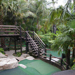 Adventure Golf - Bring your family to our Mini-golf (Putt-Putt) courses set in an exotic gardens for, a day outing,  birthday parties, corporate functions/team building in prime locations around Johannesburg.