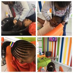 AfroKids Salon - Kids Hair Salon that specialises in Ethnic kids hair but also catering for Caucasian's, Child-friendly stylists, Interactive and Fun Environment. We also offer  Kids Pamper Parties with manicures, pedicures and facials.