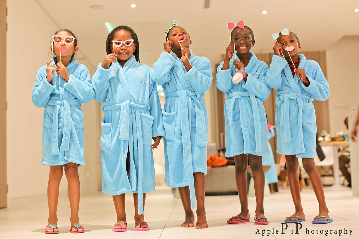 Win a Sparty Pamper Party for 6 kids worth R2600