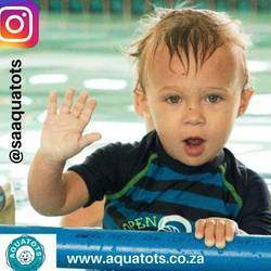 Aquatots SA - Swimming lessons - South African original and proven method of teaching babies and toddlers to swim
