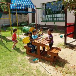 Baby's Adventure Land - Nursery school - Our loving staff will encourage your little one to learn from every opportunity and assist with achieving milestones like crawling, weaning and potty training. We also have separate playgrounds for the small and the older children.