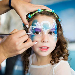 Bazinga Parties  - We offer an unforgettably fun kids party experience  with face painting, balloon sculpting, party games, sports games, theme dances , entertainers, sand art, crafts and more.