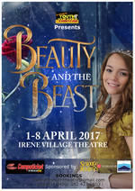 Pretoria Youth Theatre - Beauty and The Beast theatre   kids entertainment. Holiday entertainment. Things to do in the holidays.