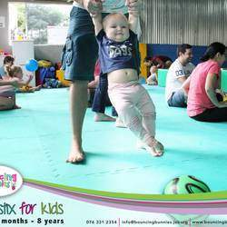 Bouncing Bunnies - Parent and child classes, kids movement classes involving age appropriate physical activities.