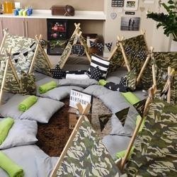 Little Slumbers Teepee Parties SA - We offer kiddies teepee tents for hire for any occasion with bedding and accessories included