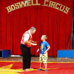Brian Boswell's Circus - South Africa's own touring circus - acrobats, clown, animals and more