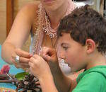 Bryanston Organic & Natural Market - a place of relaxed enjoyment for the whole family.   Wholesome good food, candle dipping, puppet shows, arts & crafts, snad art
