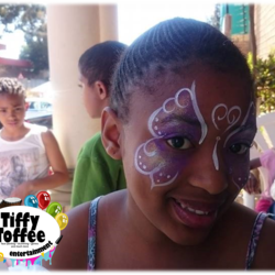 Tiffy Toffee - Face Painting, Drumming and More! - Face painting,  drumming, games, photography, parties, music, entertainment, airbrush tattoos