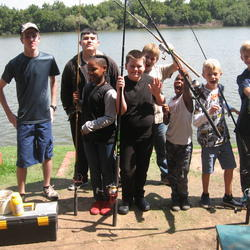 Kidz Fishing Camp  - fishing holiday camps for kids of all ages filled with fun activities plus family getaway or day trip