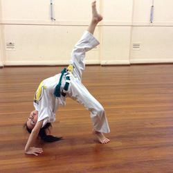 Capoeira Valence - Brazilian martial art of dance fighting
