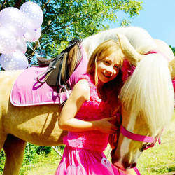 Children's Party Pony Hire  - Fudge the party pony for hire for a great day!!