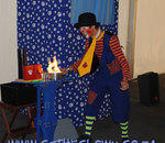 CJ the Clown - Kids Magic, Balloon Sculpting, Stilt Walking, Juggling, Unicycling, Popcorn, Candyfloss Machine and Jumping Castles.