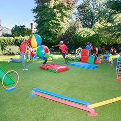 Clamber Club Parties Sandton - Fun filled, action packed, mobile obstacle course children's party entertainment for 1 - 9 year olds.