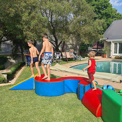 Clamber Club Parties Fourways - Active and energetic obstacle course birthday party entertainment. Clamber Club is an extensive and exciting sensory motor programme that gets children moving!