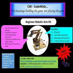 Code 4 Kidz - We offer STEM products for sale as well as workshops in coding, robotics and 3D printing
