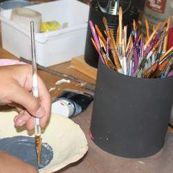 Creative Crafts - Arts and craft workshops for kids. Basic woodwork, Drawing, painting, basic art skills, mosaic, decoupage, and other craft skills.
