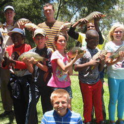 Win a place at a kids fishing camp at the Vaal worth R1700