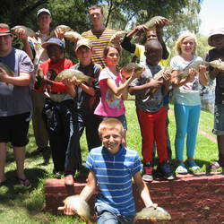 Win a place at Kidz Fishing Camp worth R1200.