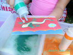 Dip-a-Candle etc Parties - Children's birthday parties, dip-a-candle. gel candle making, sand-art, etc