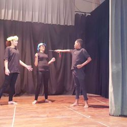 Drama JunXion - Through acting, monologues, movement, improvisation, mime and clowning we develop confidence, language, communication, focus & listening skills.