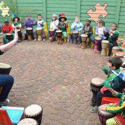 Drum Connection - Interactive school program, childrens drumming parties, holiday workshops, interactive drum shows - all ages, edutainment, private lessons.