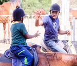 EduRide at the EARTH Centre - Horse Riding Lessons for kids and adults plus Equitherapy that helps with learning difficulties incl emotional &  behavioural issues, special needs