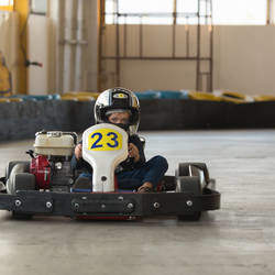 Randburg Raceway - Come experience the adrenaline rush of indoor Go-Karting with us.  Go-karting parties and team building also on offer