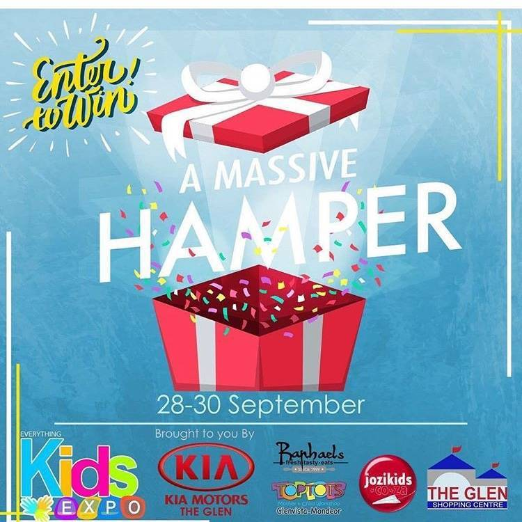 Win a hamper worth over R9210 at the Everything Kids Expo
