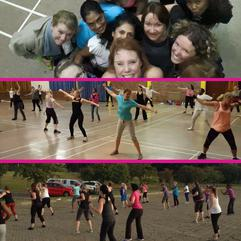 Action - Zumba Fitness at Move It with Erika