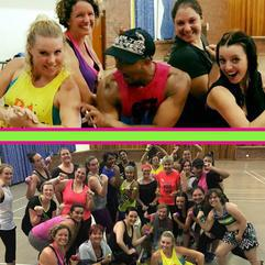 Action - Zumba Toning at Move It with Erika