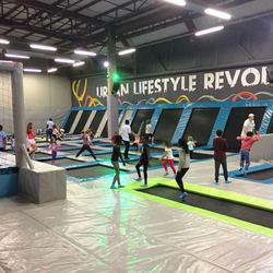 Flip.d Trampoline park - Trampoline Park for day visits, Party venue Corporate events Playground Indoor entertainment