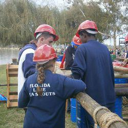 Florida Lake Sea Scouts - Sea Scouts for boys and girls at Florida Lake which incl hiking, camping, rowing, sailing, canoeing.
